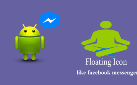 floating icon like facebook chat head
