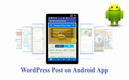 wordpress post in android app