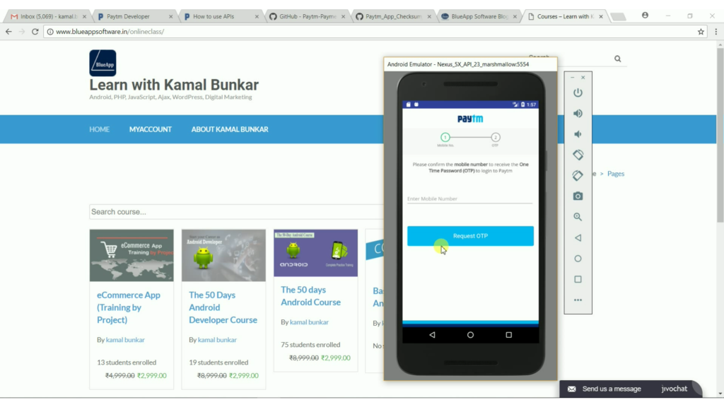 Paytm Integration Android SDK 2 1 - Android Tutorial Step By Step guide
