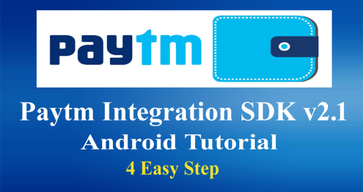 paytm integration android example sdk 2.1